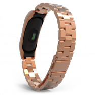 Stainless Steel Wristband for Xiaomi Mi Band 2 Light Design ROSE GOLD