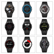 KingWear KW88 Pro 3G Smartwatch Phone 1.39 inch Android 7.0 MTK6580 Quad Core 1.3GHz 1GB RAM 16GB ROM Sedentary Reminder Bluetooth 4.0 350mAh Built-in BLACK