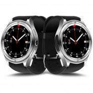 F10 Smartwatch Phone 1.3 inch MTK6580 1GB RAM + 16GB ROM Bluetooth Camera 600mAh Battery  SILVER