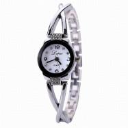 Lvpai P023 Women Watch Fashion Alloy Band Quartz Watches WHITE
