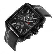 NAVIFORCE Men's Quartz Fashion Watch BLACK