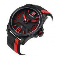 Multifunctional Sports  Fashion  Quartz Watch RED