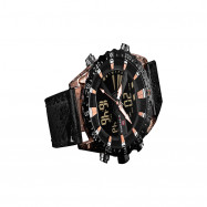 NAVIFORCE  9136 New Dual Movement Multi-function Men's Watch ROSE GOLD