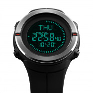 SKMEI Fashion Sports Men Compass Outdoor Countdown Alarm Digital Watches MULTI-A