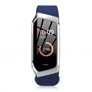 E18 Smart Heart Rate Bracelet Sports Watch COBALT BLUE REGULAR