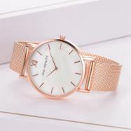 Lvpai P819 Fashion New Silicone Exquisite Quartz Watch Fashion Watch ROSE GOLD