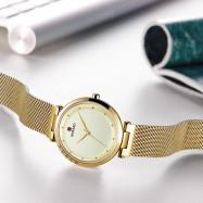 REWARD RD63073L Women's Ultra-thin Mesh Waterproof Watch GOLD