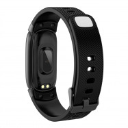 Qw16 Smart Bracelet Continuous Heart Rate Sleep Monitoring Step BLACK