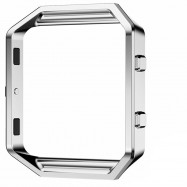 Stainless Steel Watch Case Frame Protective Case For Fitbit Blaze Smart Watch SILVER