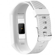NO1 DT58 Blood Oxygen Pressure Smart Bracelet WHITE