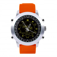 AOWO DX18 Smart Watch Bluetooth Digital 5ATM Waterproof Call SMS Notification Sports Wristband for Android iOS ORANGE