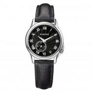 RARONE Women Genuine Leather Quartz Watch BLACK 1PC