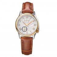 RARONE Women Genuine Leather Quartz Watch BROWN 1PC