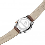 RARONE Women Genuine Leather Quartz Watch DEEP COFFEE 1PC
