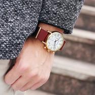 OCHSTIN 6081A Fashion Business Men's Watch with Box WHITE