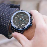 OCHSTIN 6068B Multi-function Personality Waterproof Outdoor Sports Fashion Men's Watch BLUE