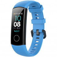 Practical Silicone Watch Strap for HUAWEI Honor Band 4 SKY BLUE