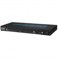 Zenhon T - 204A HDMI Switch Splitter 4 x 2 Switcher Support 3D 4K x 2K