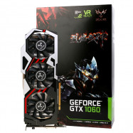Original Colorful iGame1060 U - 6GD5 Top 192bit GDDR5 Graphics Card GeForce GTX 1060 with HDMI / DVI / DP 1.4 Interface