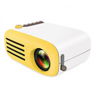 YG200 Portable LCD Projector Home Theater 500 - 600 Lumens Support 1080P