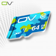 OV 64GB Micro SDXC Memory Card Camouflage Version Class 10 for Phone / Tablet / Car DVR