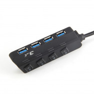 USB 3.0 4 HUB with Independent Switch