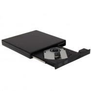 USB 2.0 External Slim DVD ROM Player Reader Combo CDRW Burner Drive Plug & Play for Mac PC Laptop Netbook High Quality