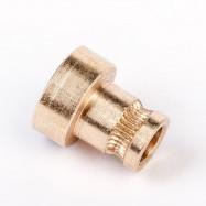 FLSUN 3D Printer for 1.75MM Filament Feed Wheel Squeeze Rolls Pressure Wire Wheels Feeding Wheel Extruder Gear 5PCS/LOT