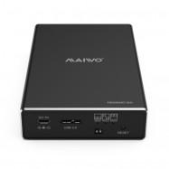 MAIWO K25272 Dual Disk Hard Disk Box Supports 2.5 Inch Notebook SATA Interface