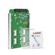 Maiwo KT037 TF (Micro SD) Micro SD X 4 SATA-KT037B Interface