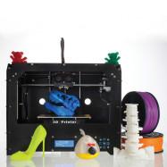 BIZER Factory FDM - Black Makerbot Replicator 3D-Printer 2 Extruders NEW