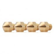 3D Printer 1.75mm Brass Accessory Extruder Nozzle