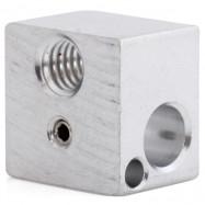 Heating Block Hot End 3D Printer Accessories Aluminum Sandblasting Oxide Processing