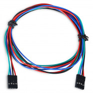 LDTR - YJ028 / C 4 - Pin Female to Female Breadboard Connector Cable for Arduino / 3D Printer