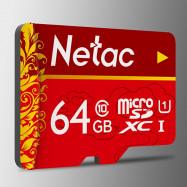 Netac P500 Micro SD Card UHS-1 Class 10 100MB/s 64GB