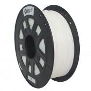 1.75mm TPU Flexible 3D Printer Filament White for Creality CR - 10S Anet A8