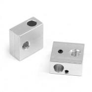 Heating Aluminum Block for Makerbot MK7 / MK8 3D Printer Extruder