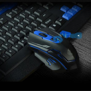 2.4GHz Wireless Keyboard and Mouse Kit with Receiver for Gaming Office