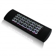 MX3 2.4G Wireless Keyboard Backlight 6 Axis Infrared Learning Box Android Intelligent Remote Controller