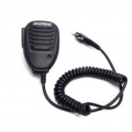 Baofeng Hand Microphone Walkie Talkie MIC Speaker Shoulder Microphone For UV5R