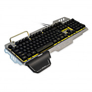 SUNSONNY S - K10 Wired Gaming Keyboard Voice Control RGB Backlight 104 Keys