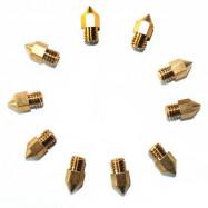 MK8 3D Printer Nozzle 0.4mm for Creality3D Anet Alfawise JGAURORA Tronxy Geeetech TEVO 10PCS