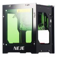 NEJE DK - 8 - KZ 3000mw 445nm Blu-ray AI Smart Painting DIY USB High Power Laser Engraving Machine