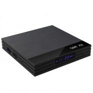 Q96 X2 TV Box 4GB RAM +32GB ROM with Amlogic S905X2 / Android 8.1 / 2.4G +5G Wifi / USB3.0 / 100Mbps / 4K H.265