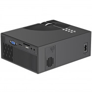 Cheerlux C7 LCD Home Projector 800 x 480P Support 1080P HD / USB / VGA / AV / Headphone Jack / SD Card Slot