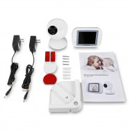 851 3.5 inch 2.4GHz Wireless TFT LCD Video Baby Monitor with Night Vision