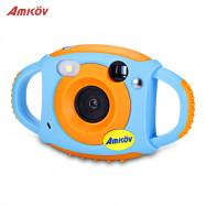 Amkov CD - FP 1.77 inch WiFi 5MP Mini Kids Digital Camera for Children Boy Girl