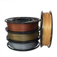 3D Printer Metalfill Filament Golden Silver Copper Bronze 4pcs Color For Ender 3