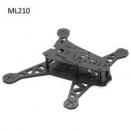 LISAMRC ML210 Carbon Fiber Multicopter Frame Kit Accessory for Multicopter