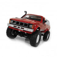 WPL C24 1/16 4WD 2.4G 2CH Military Truck Buggy Crawler Off Road Car KIT RED